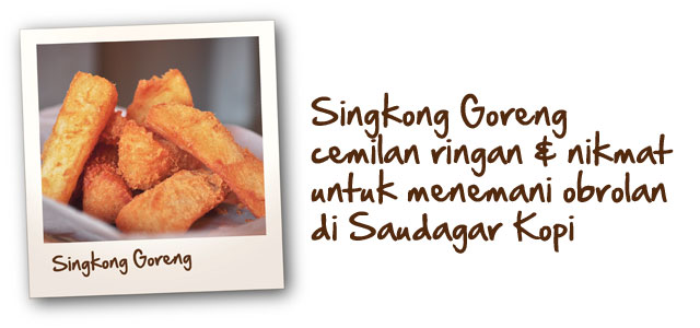 Singkong Goreng
